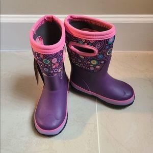 Bogs girls rain boots multiple sizes NWT